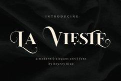 La Vieste - Elegante Serif Product Image 1