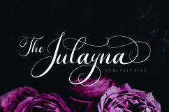 The Julayna - Wedding Font Product Image 1