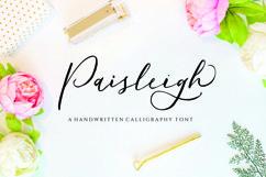 Paisleigh - wedding font Product Image 1