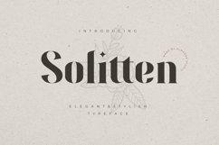 Solitten | Elegant & Stylish Typeface Product Image 1