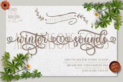 Winter Sounds   All Season Fonts Product Image 1