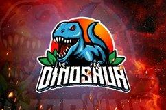Dinosaur mascot logo design Product Image 1