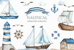 Nautical watercolor collection Product Image 1