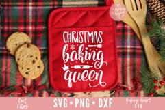 Christmas Baking Queen SVG Product Image 2