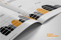 Devided Annual Report Template Product Image 3