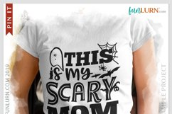 This is My Scary Mom Costume SVG Cut File Product Image 3