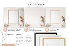 Frame & Wall Mockup Bundle - 7 Product Image 3