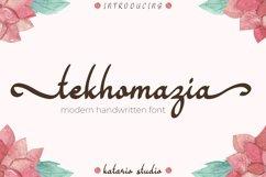 Tekhomazia | Web Font Product Image 1