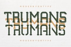 TRUMANS Product Image 2
