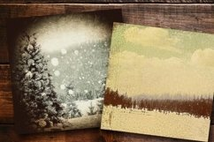 Dark Winter Old Paper part 01 Product Image 2