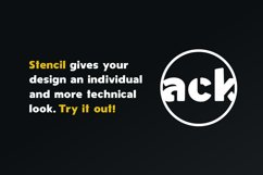 Spotlight - Sans Serif Font Family with optional Stencils Product Image 3