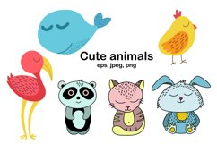 Worksheet animals and coloring book Product Image 2