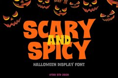 Scary And Spicy - Horror Font Product Image 1