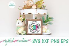 Easter Round SVG, DXF, PNG, EPS Product Image 3