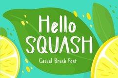Web Font Squash Display Font Product Image 1