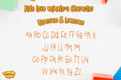 Kids Love Animals - Child font with doodle glyphs Product Image 2