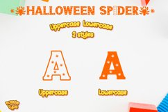 Halloween Spider Display font |Halloween font decorate craft Product Image 6