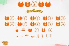 Cat Monogram Display font Procreate font Pet font Product Image 6