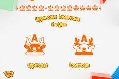 Christmas Reindeer font winter Procreate Xmas kids fonts Product Image 3
