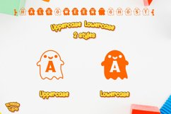 Halloween Ghost Monogram Display font / Boo Procreate font Product Image 2