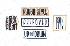 BLU CAPTAIN ROUGH FONT Product Image 4