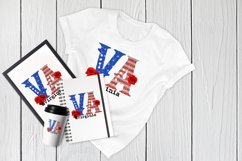 State abbreviation. USA sublimation. Virginia Product Image 4