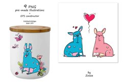 French Bulldogs - sticker pack Product Image 4