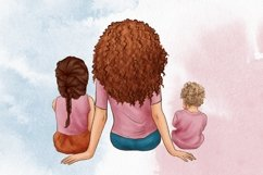 Big Family Clipart, Father's Day Clipart, Mother's Day Product Image 5