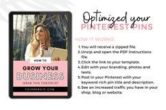 Pinterest Templates Canva, Canva Templates, Pinterest Pins Product Image 3
