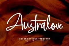 Australove - Modern Handwritten Product Image 2