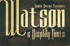 Watson - Vintage Display Font Product Image 1