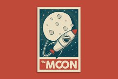 Retro Solar System Poster Product Image 9