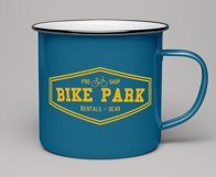 Vintage Outdoor Bike Tours Logo / Badge Templates SVG File Product Image 3