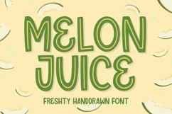 Melon Juice - Freshty Font Product Image 1