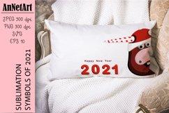 SUBLIMATION SYMBOL 2021 bull Product Image 1