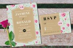 Vintage Wedding Invitation Suite Product Image 4