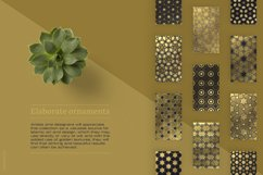 Luxury patterns - 250 geometric backgrounds collection Product Image 15