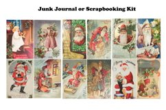 Vintage Christmas Junk Journal or Scrapbook Add Ons Kit PDF Product Image 5