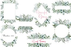 Watercolor Greenery 54 Piece Bundle in Silver Sage and Gray Product Image 5