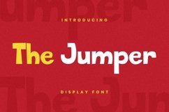 The Jumper Font Product Image 2