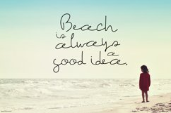 The Beach Font Product Image 3