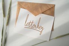 Lettered Signature Script Product Image 3