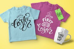 Easter quotes. Spring lettering set Product Image 2