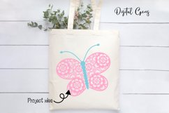 Butterfly SVG / DXF / EPS / PNG files Product Image 3