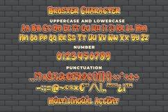 Broster - a Graffiti Font Product Image 6