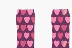 Pink hearts seamless pattern Valentine's digital paper Product Image 11