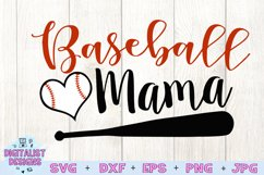 Baseball Mama SVG | Baseball Mom SVG | Baseball SVG Product Image 2