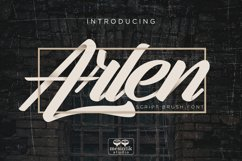 Arlen Script Product Image 1