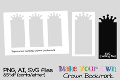 Crown Bookmark Product Image 1