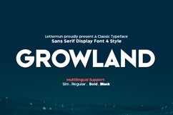 Growland Font Family Product Image 1